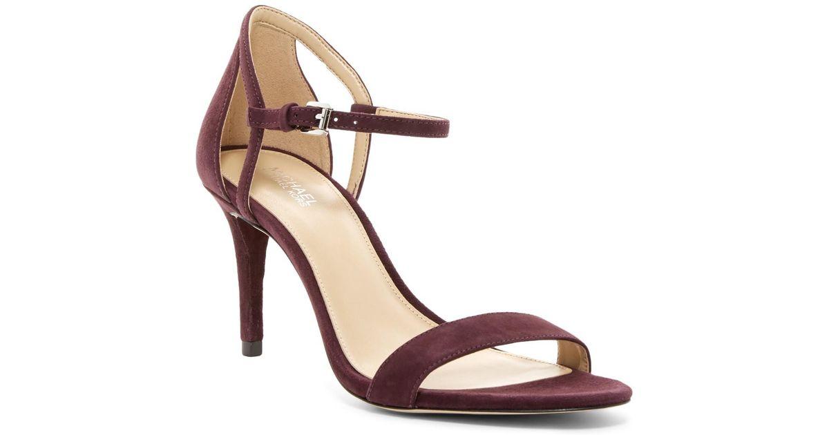b465d0578253 Lyst - MICHAEL Michael Kors  simone  Sandal (women) in Brown