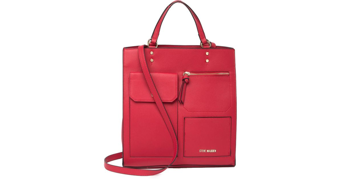 f99aab80bf Steve Madden Maisy Tote Bag in Red - Lyst