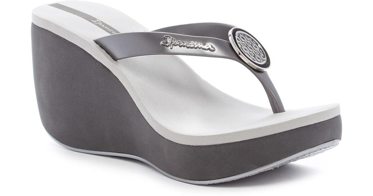 9577deff490f Lyst - Ipanema Bossa Wedge Sandal