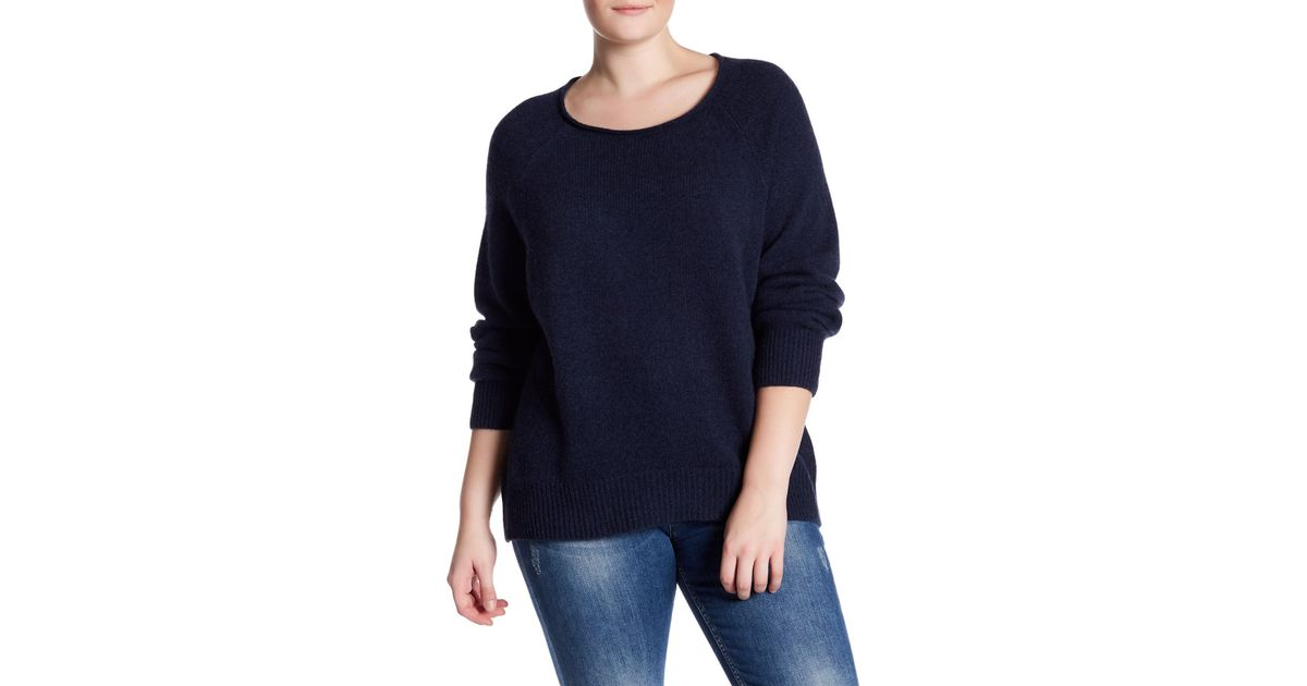 76b484597e0 Lyst - Naked Cashmere Leila Raglan Cashmere Sweater (plus Size) in Blue