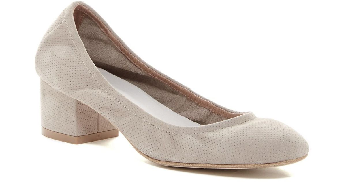 7596aab1df5 Lyst - Jeffrey Campbell Bitsie Ii Round Toe Pump in Gray