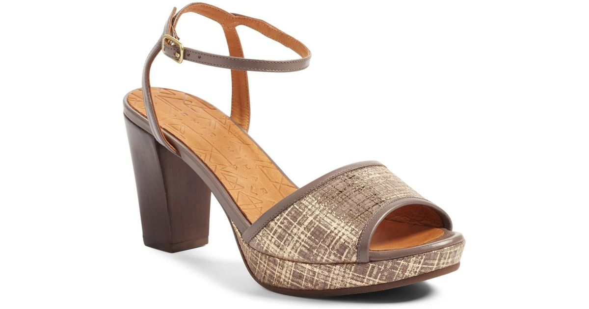 chie mihara deko sandal in brown - save 53% | lyst, Wohnideen design