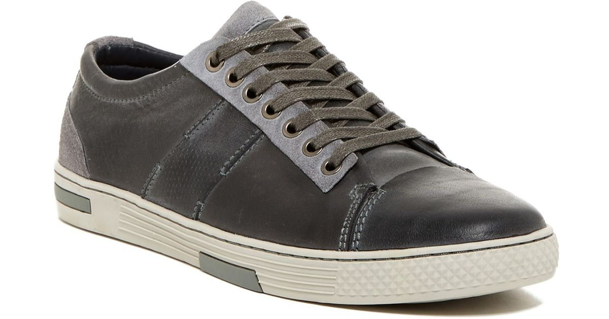 Steve madden gilroy sneaker in gray for men lyst for Gilroy outlets jewelry stores