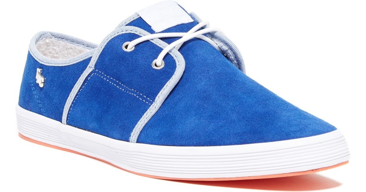 Fish n chips spam 2 sneaker in blue for men lyst for Fish n chips shoes