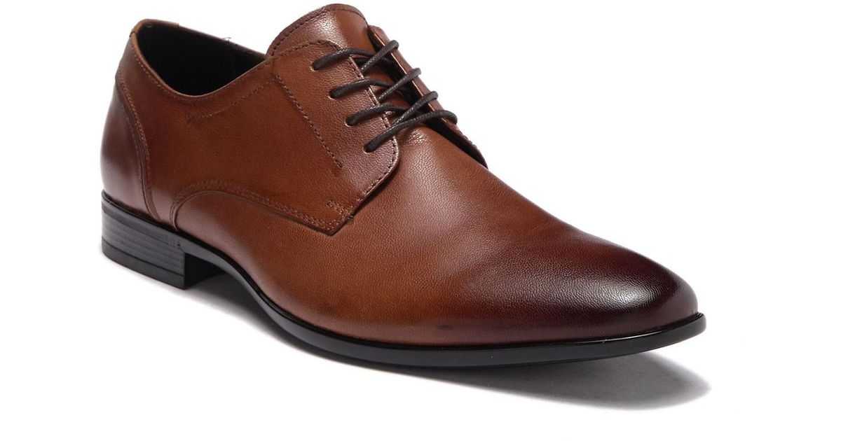aa75c7e94a8c Lyst - ALDO Sevirari Leather Burnished Derby in Brown for Men