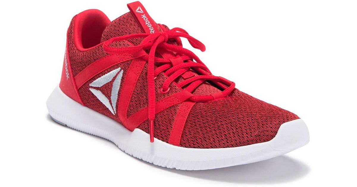 73f615052b06 Lyst - Reebok Reago Essential Training Sneaker (men) in Red for Men