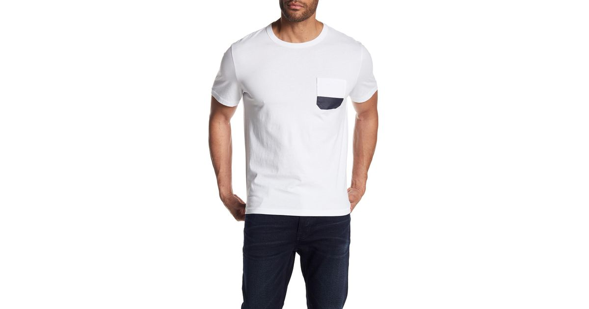 Dipped Pocket Tee Outlet Real Eastbay Online Quality Free Shipping Low Price BysV9r54