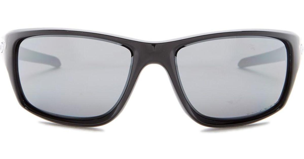 9e8b684248 Lyst - Oakley Unisex Canteen Polarized Wrap Sunglasses in Black for Men