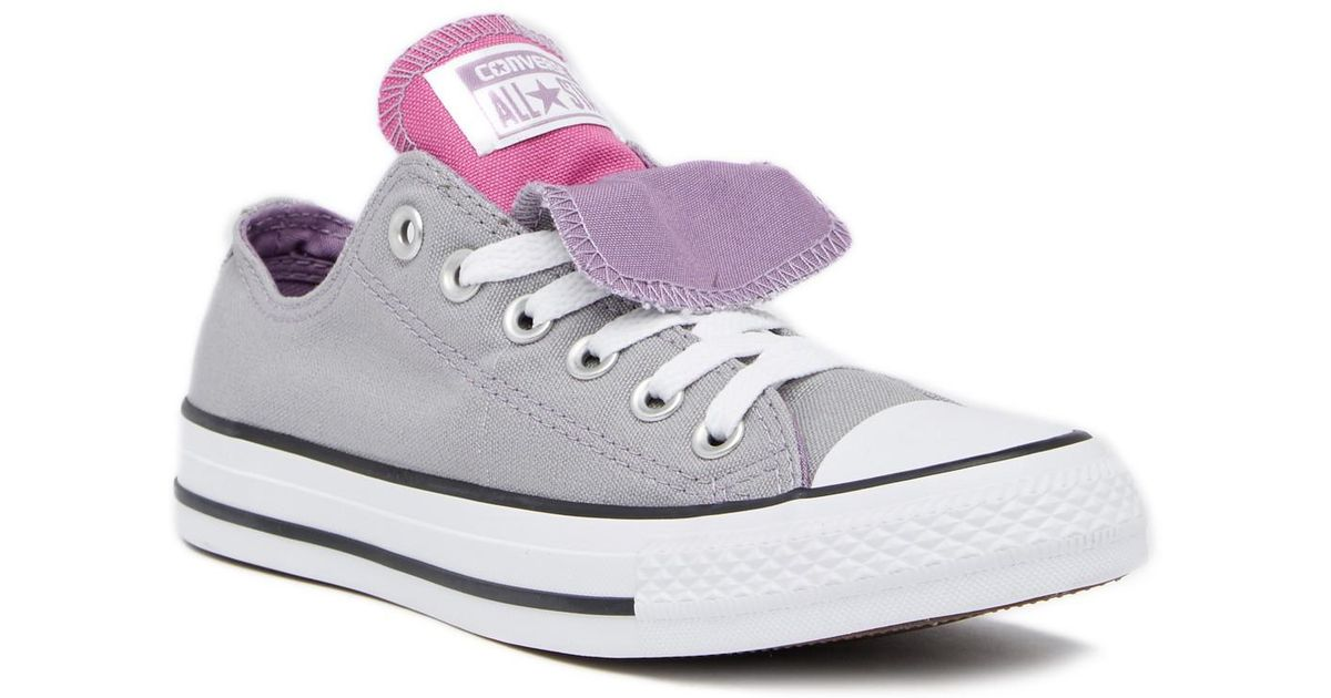ffd83c12f872 Lyst - Converse Chuck Taylor Double Tongue Oxford Sneaker