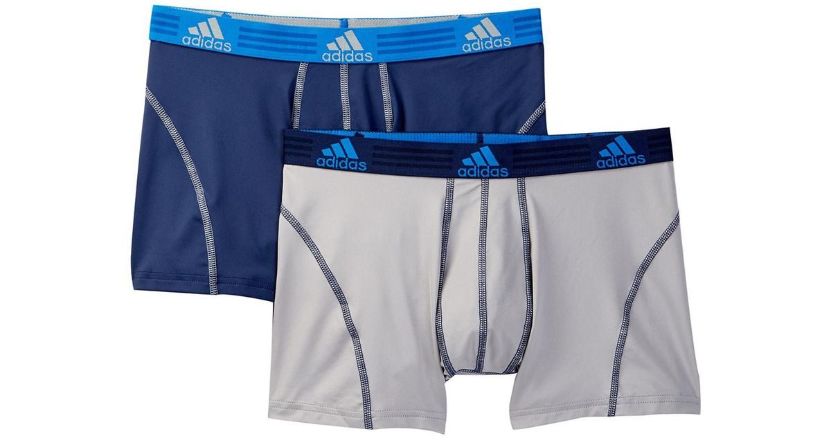 Lyst Adidas Originals Sport Performance Boxer Briefs Pack Of 2