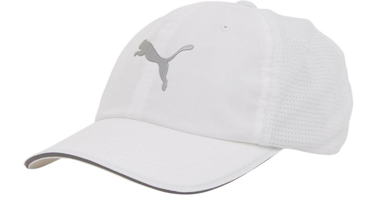 42df6a56d997 Lyst - Puma Mainline Mesh Rubber Cap in White for Men