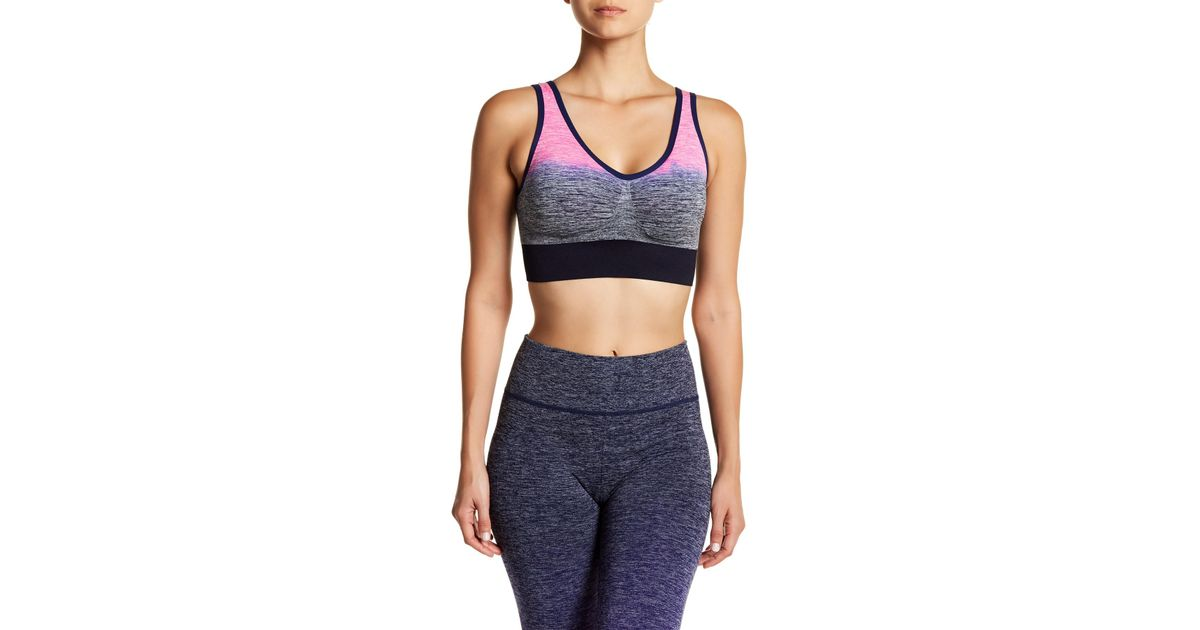 1dd0b2f12e099 Lyst - Electric Yoga Cochillin  Bra in Pink