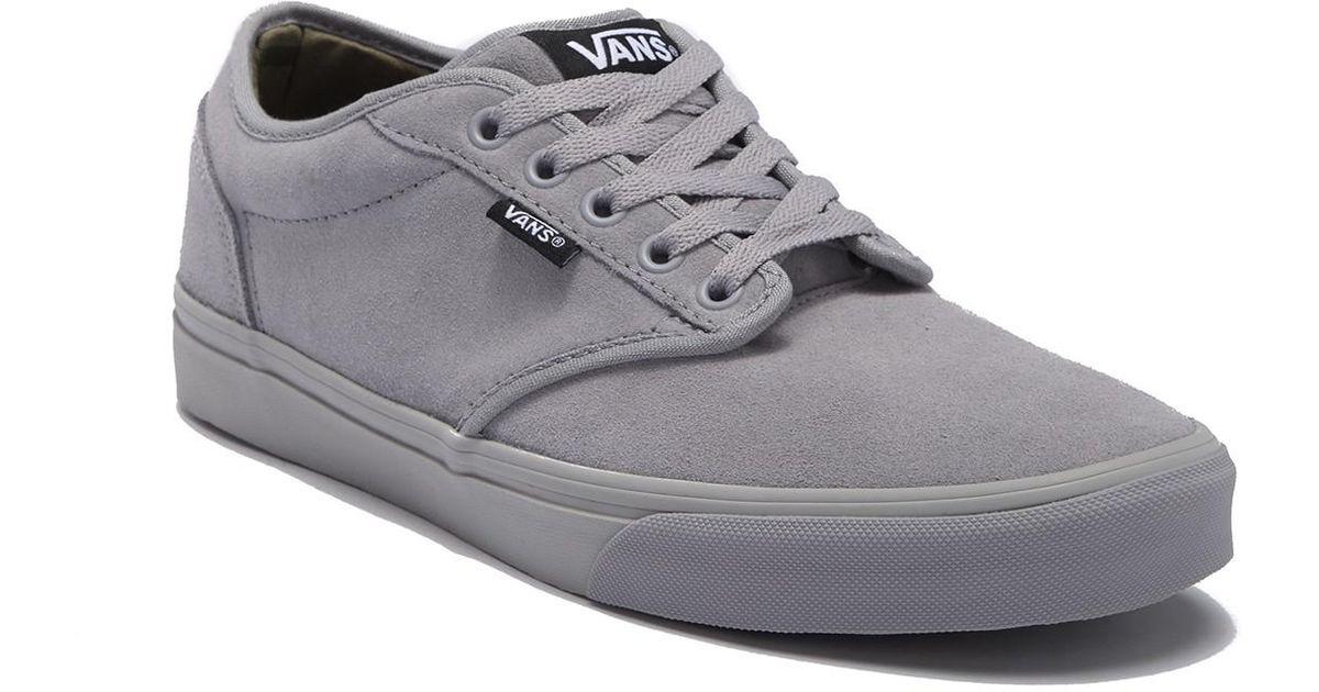 00f7b0b85654 Lyst - Vans Atwood Sneaker in Gray for Men