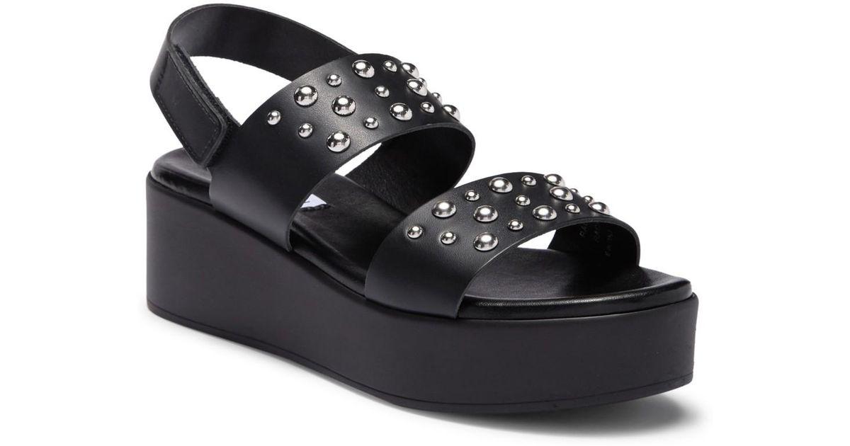 c5db6ea199c Lyst - Steve Madden Radiate Platform Sandal in Black
