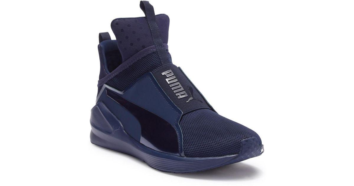 6d73fbb2a098e8 Lyst - PUMA Fierce Core Mono Sneaker in Blue for Men