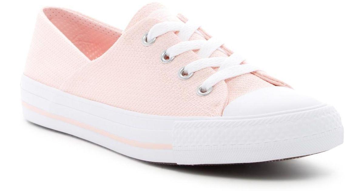 d4ba725da73 Lyst - Converse Chuck Taylor All Star Coral Oxford Sneaker (women) in Pink