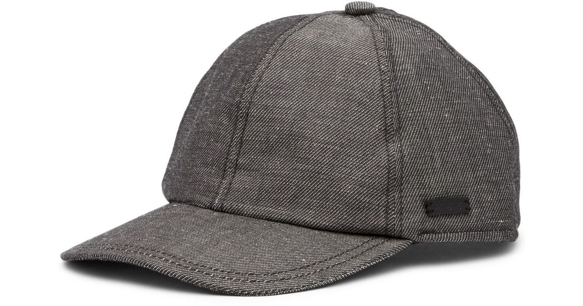 Lyst - John Varvatos Baseball Merino Wool Hat in Gray for Men f924114a381