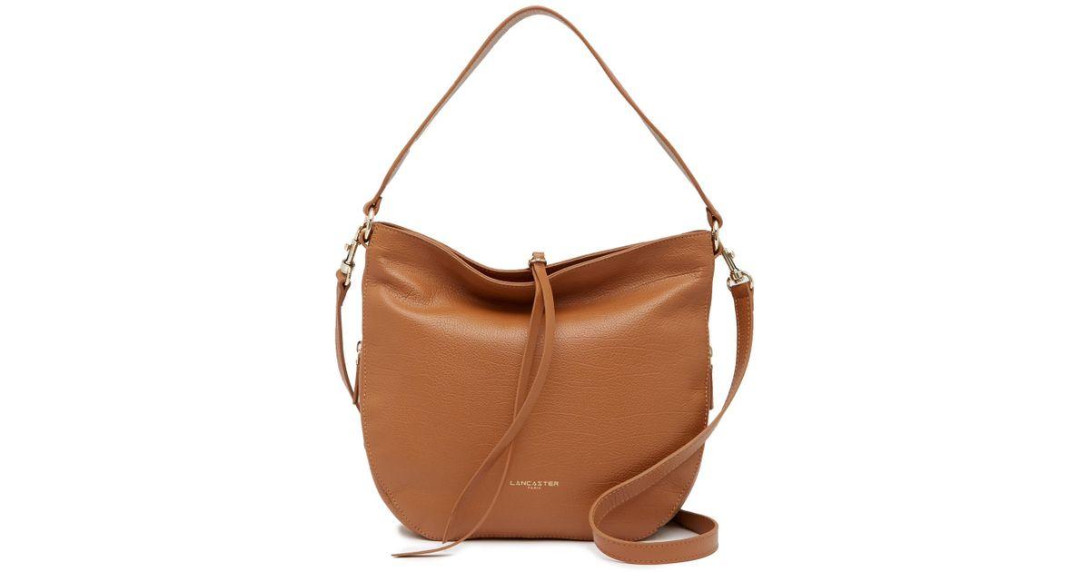 e57f974b54d9 Lyst - Lancaster Paris Dune Leather Shoulder Bag in Brown