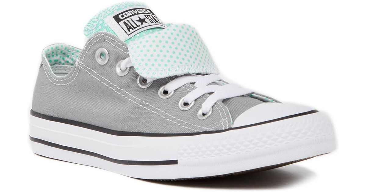 8a60dd822dfd Lyst - Converse Chuck Taylor All Star Double Tongue Oxford Sneaker (women)