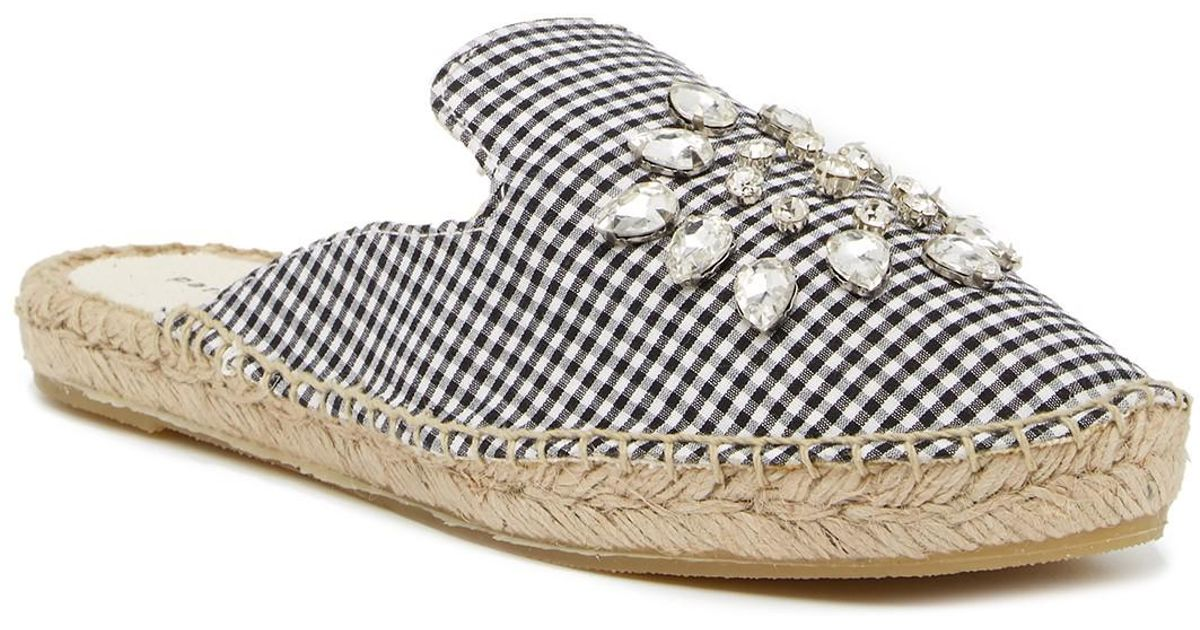 Patricia Green Embellished Espadrille Mule W6470
