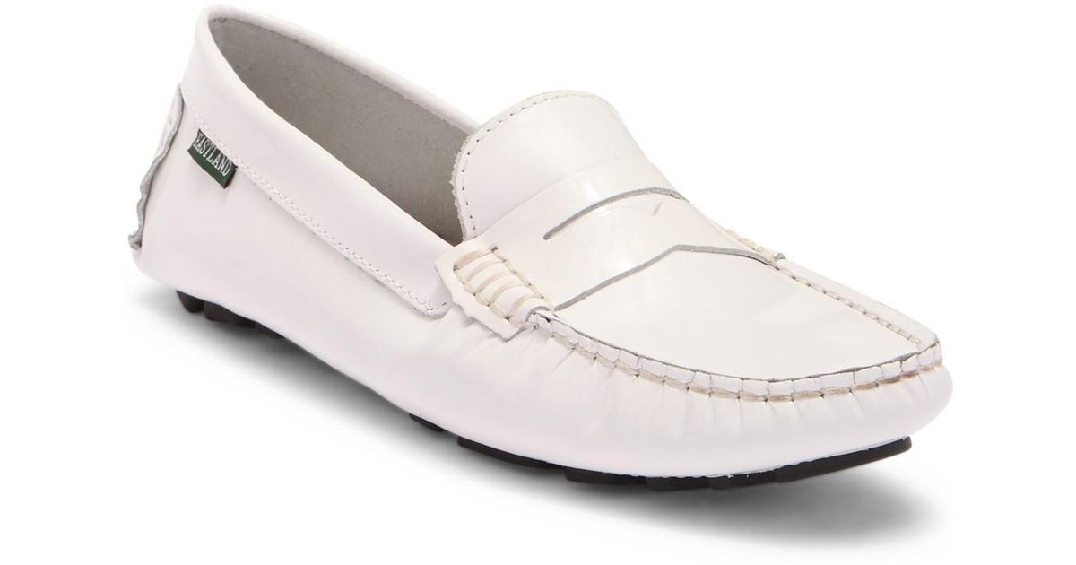 163997eb40b Lyst - Eastland Patricia Loafer in White - Save 56%