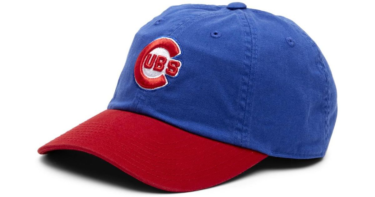 a5a14cbc4e3f8 Lyst - American Needle Ballpark Chicago Cubs Baseball Cap in Blue for Men