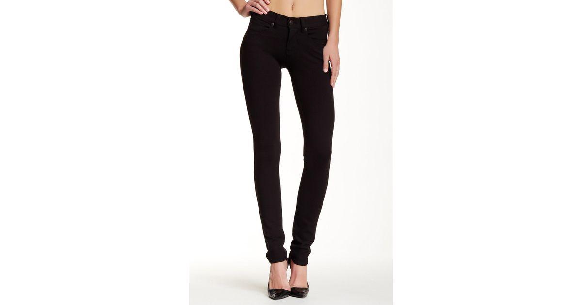 cc0933e16d0 Lyst - Silver Jeans Co. Aiko Mid Rise Super Skinny Jean in Black