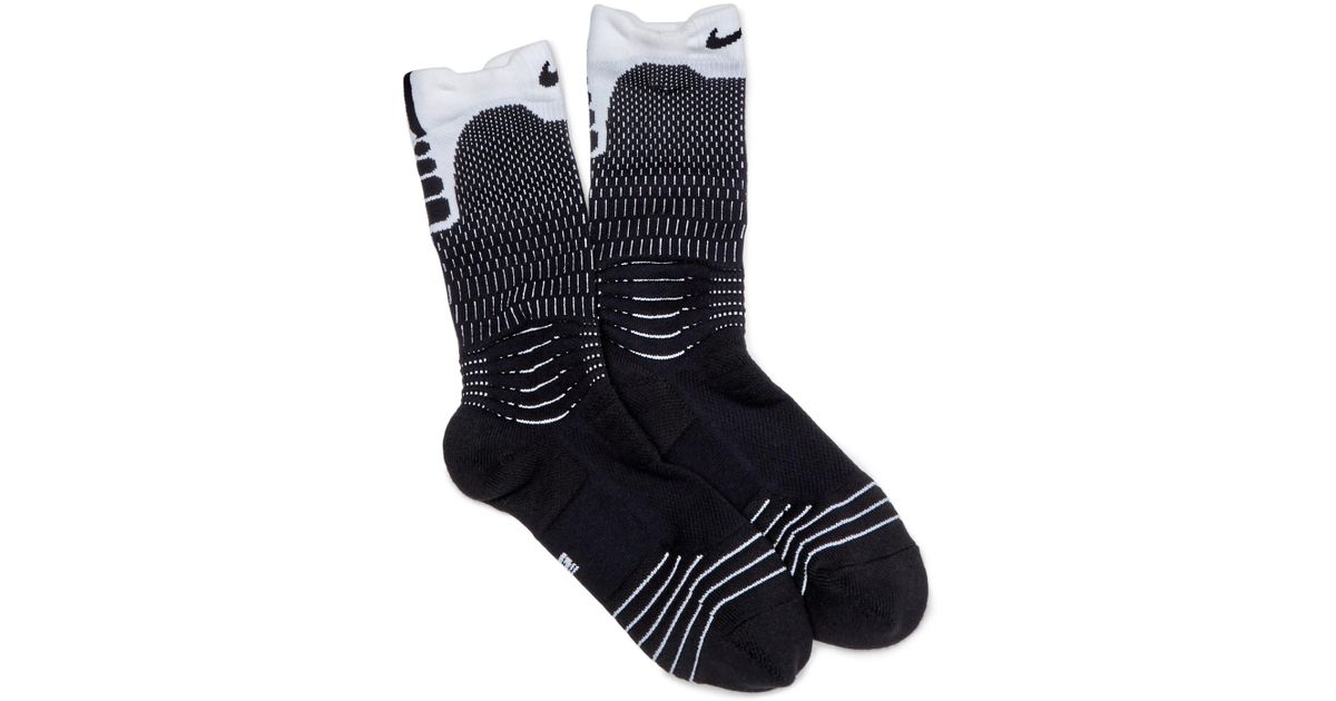 b57225000a8e Lyst - Nike Elite Versatility Crew Socks in Black for Men