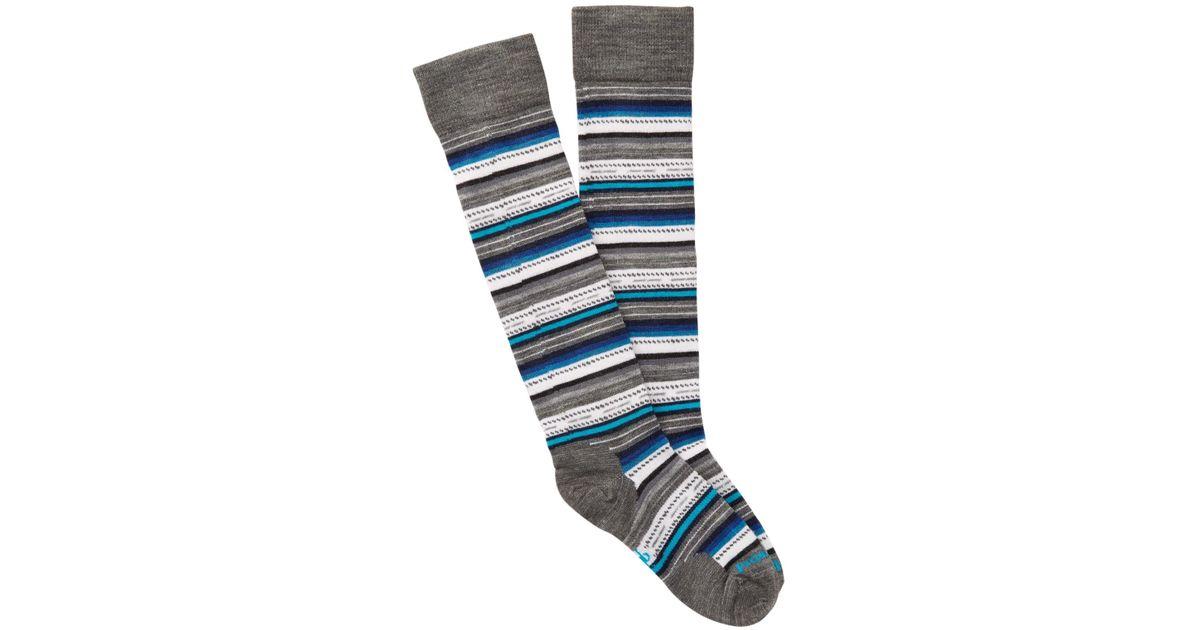 5eb42f3a4 Lyst - Smartwool Margarita Knee High Socks in Blue