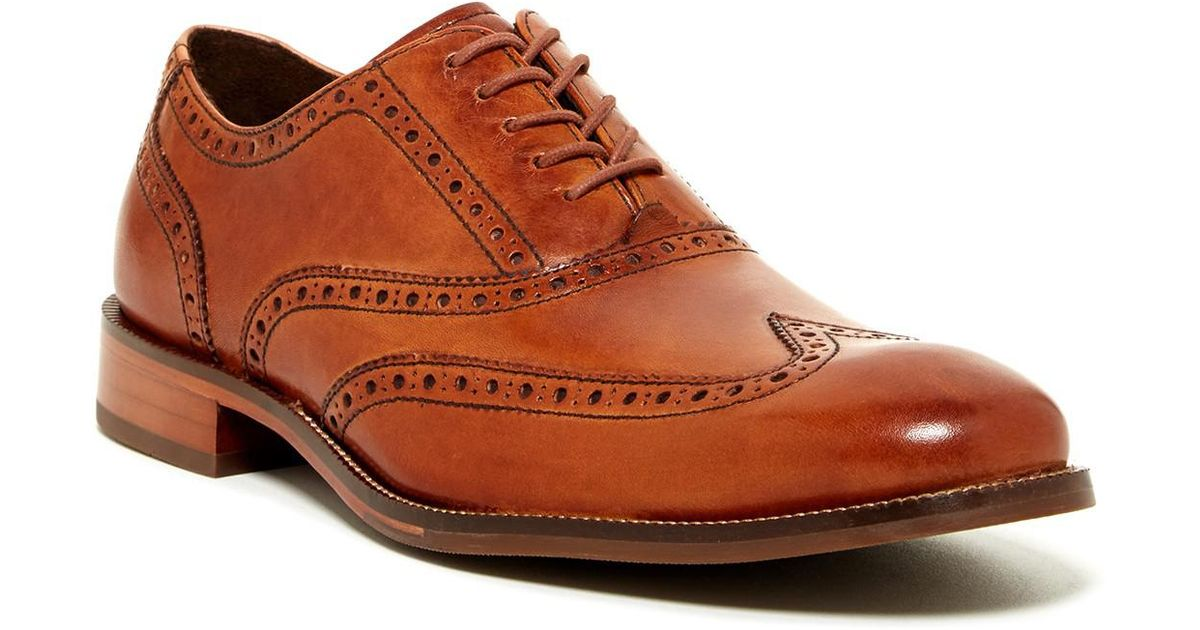 1c2f1e77c12 Lyst - Cole Haan Williams Wingtip Oxford - Wide Width Available in Brown  for Men