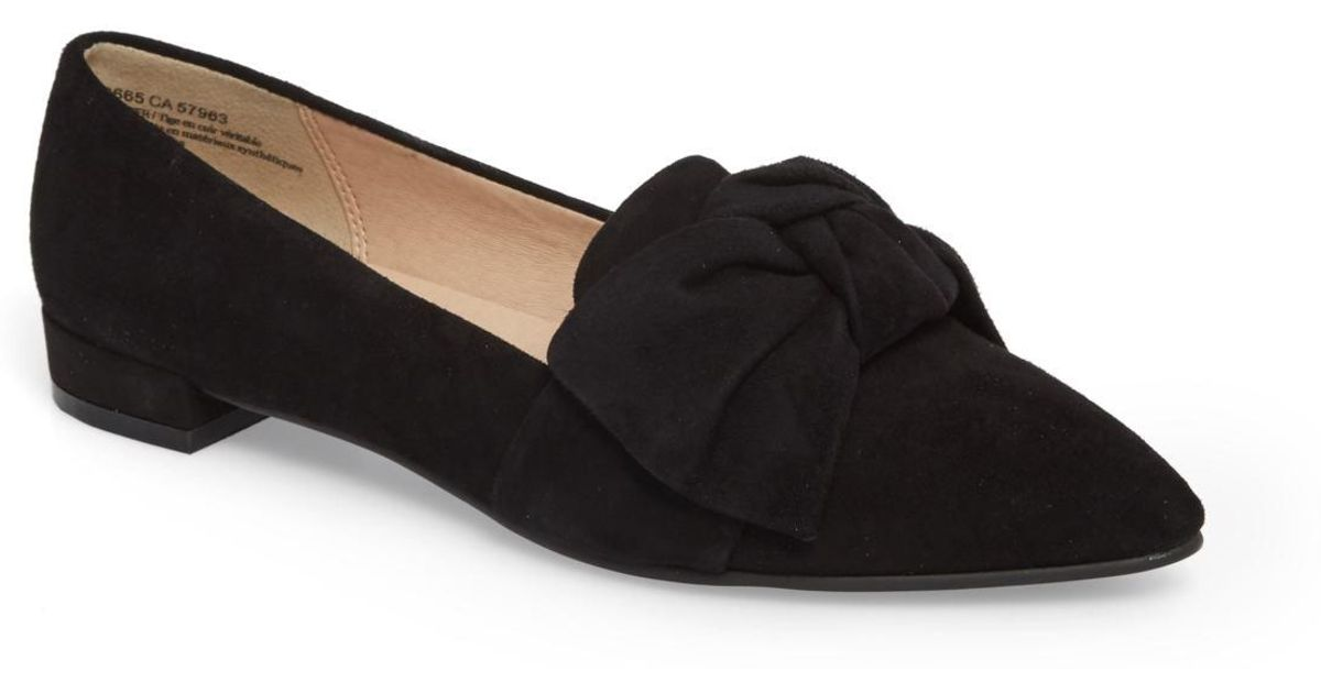 318c793a71f Lyst - BP. Kari Bow Loafer in Black