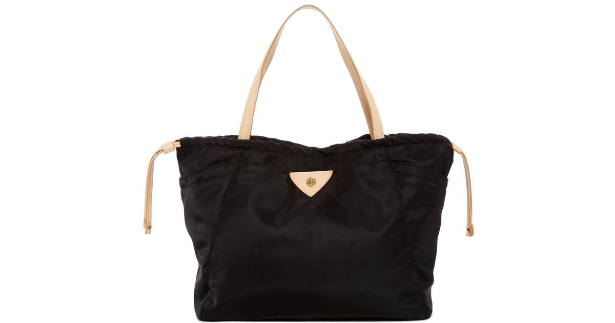 2a618f9acf Anne Klein Aly Large Nylon Tote Bag In Black Lyst