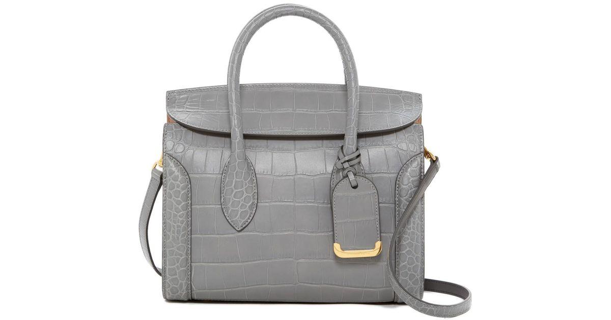 cb7fe5844e92 Alexander McQueen Heroine 30 Medium Leather Shoulder Bag - Lyst