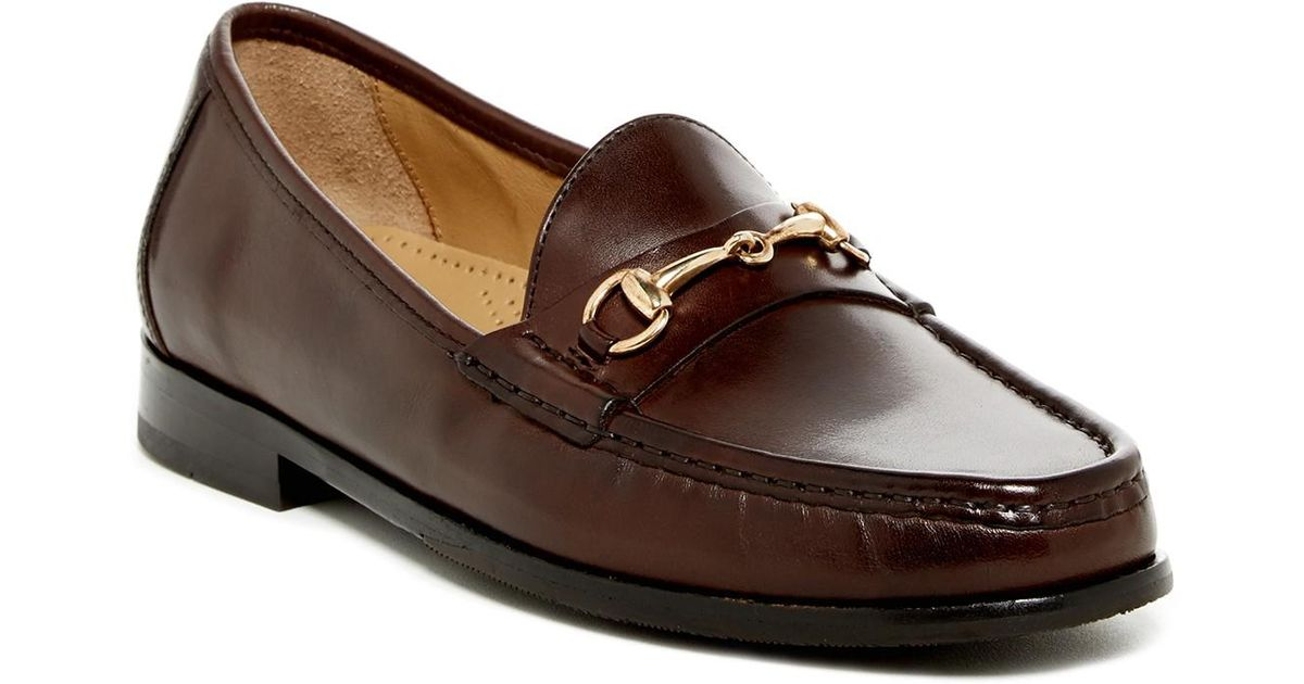 a9ea35b3cf Cole Haan Ascot Ii Bit Loafer (wide Width Available) in Brown for Men - Lyst
