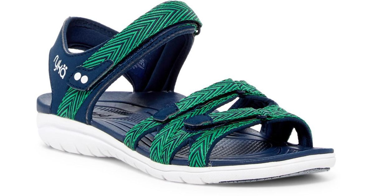 Ryka Savannah Strappy Sandal - Wide Width Available