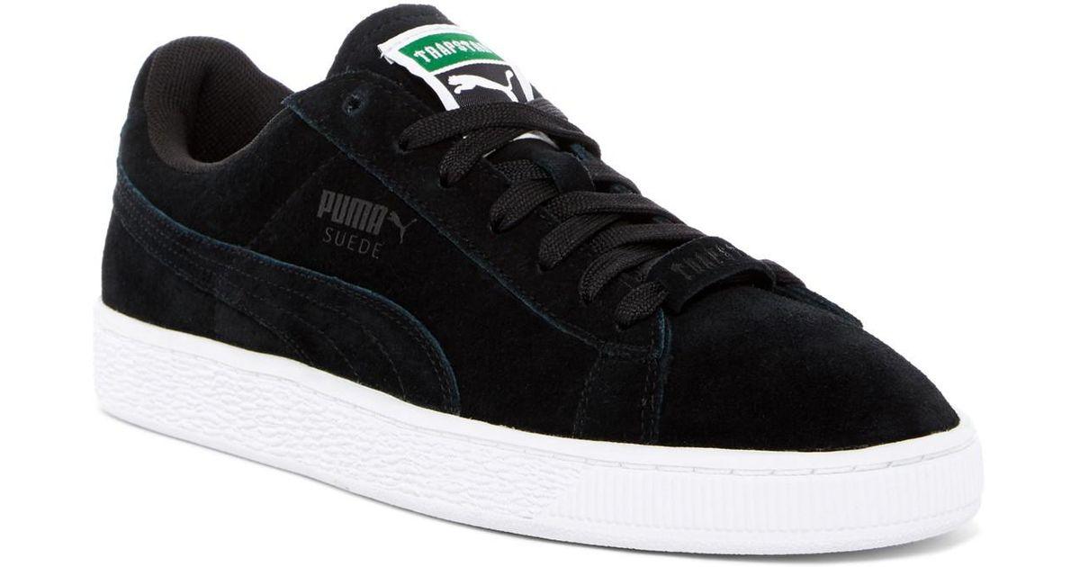 5c3ccae9596a7f Lyst - PUMA Basket X Trapstar Sneaker in Black for Men