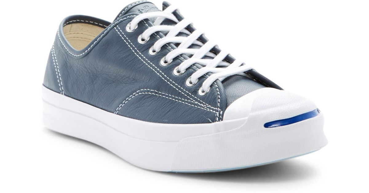 a71bb6164698 Lyst - Converse Jack Purcell Signature Oxford Sneaker (unisex) in Blue for  Men