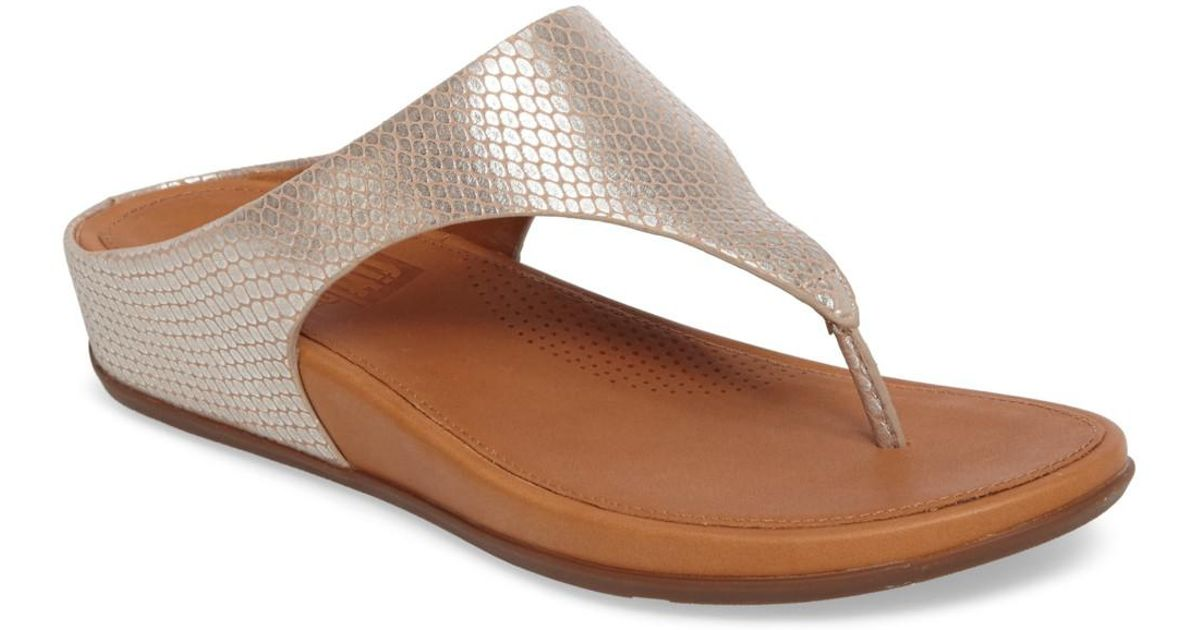 294548073 Lyst - Fitflop (tm) Banda Sandal (women) in Brown