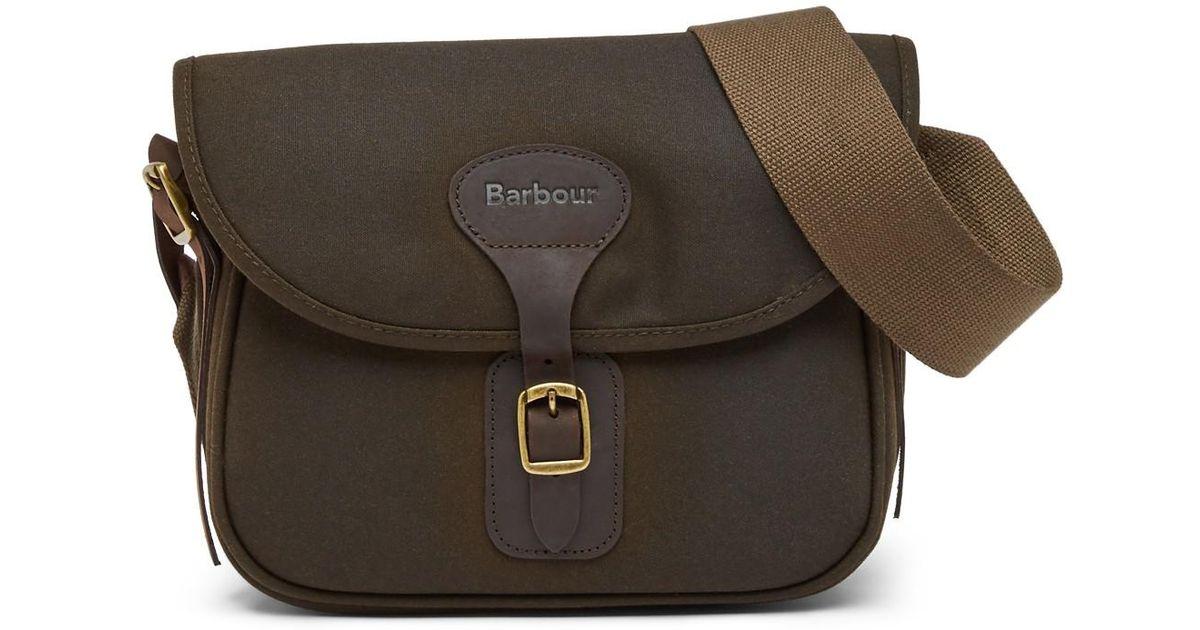 Lyst - Barbour Cartridge Bag in Green
