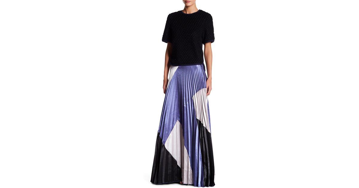 Gracia colorblock maxi dress