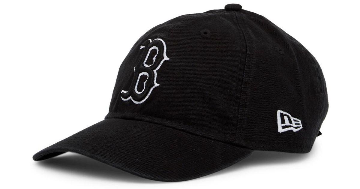 Lyst - KTZ Boston Red Sox Cap in Black for Men 1271fec7b33