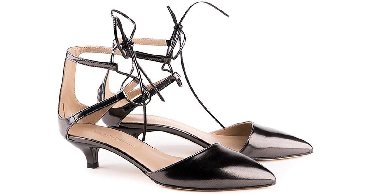 Perla Formentini Agnese Point Toe Sandal 6HU5kfHe8