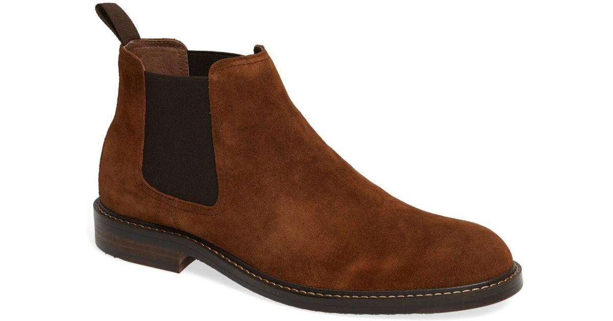 8f19342d17391 Lyst - 1901 Brooks Chelsea Boot (men) in Brown for Men