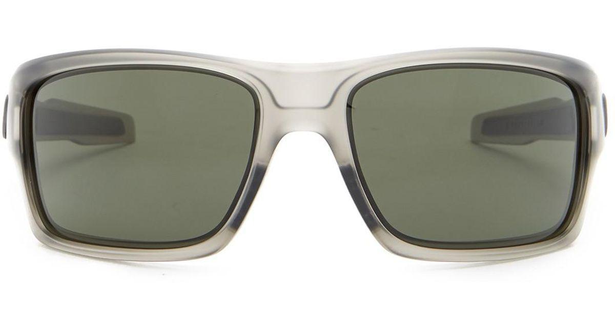 ed1a534b14 Lyst - Oakley Unisex Mph Turbine Wrap Sunglasses in Gray for Men