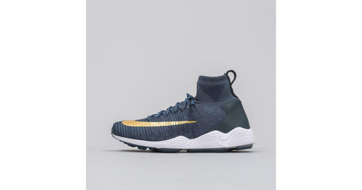 f7f7f30b22b Lyst - Nike Zoom Mercurial Xi Flyknit Fc In Blue in Blue for Men