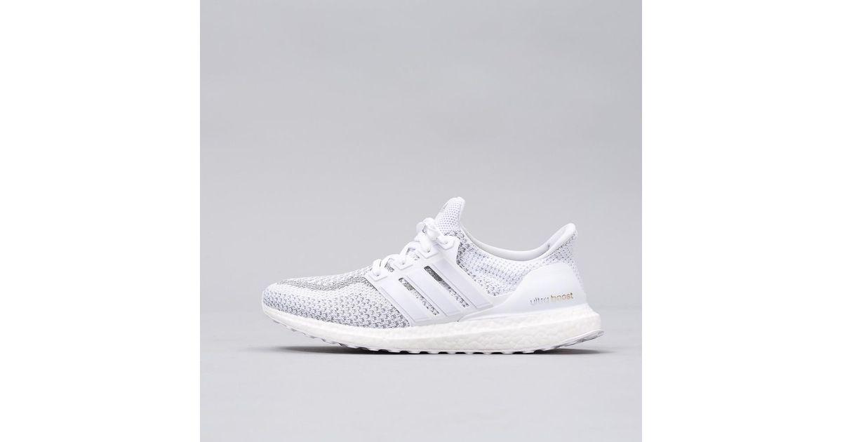 lyst adidas originali ultra impulso riflettente scarpe in bianco per gli uomini.