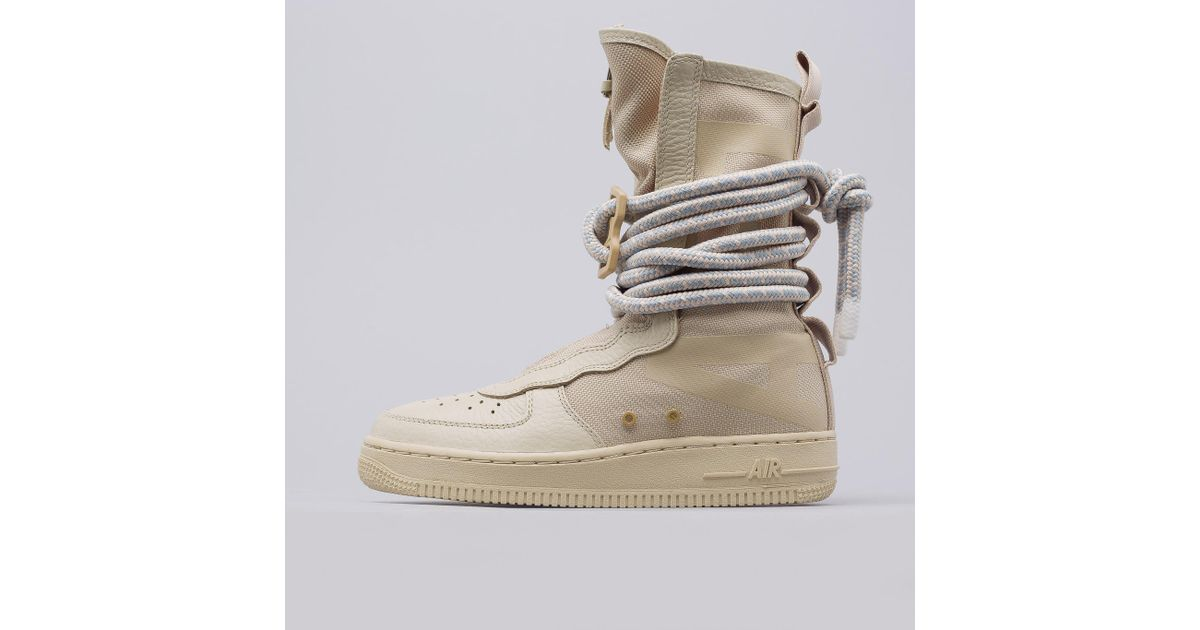 39ffcd39d08 Nike - Natural Women's Sf Af-1 High In Rattan for Men - Lyst