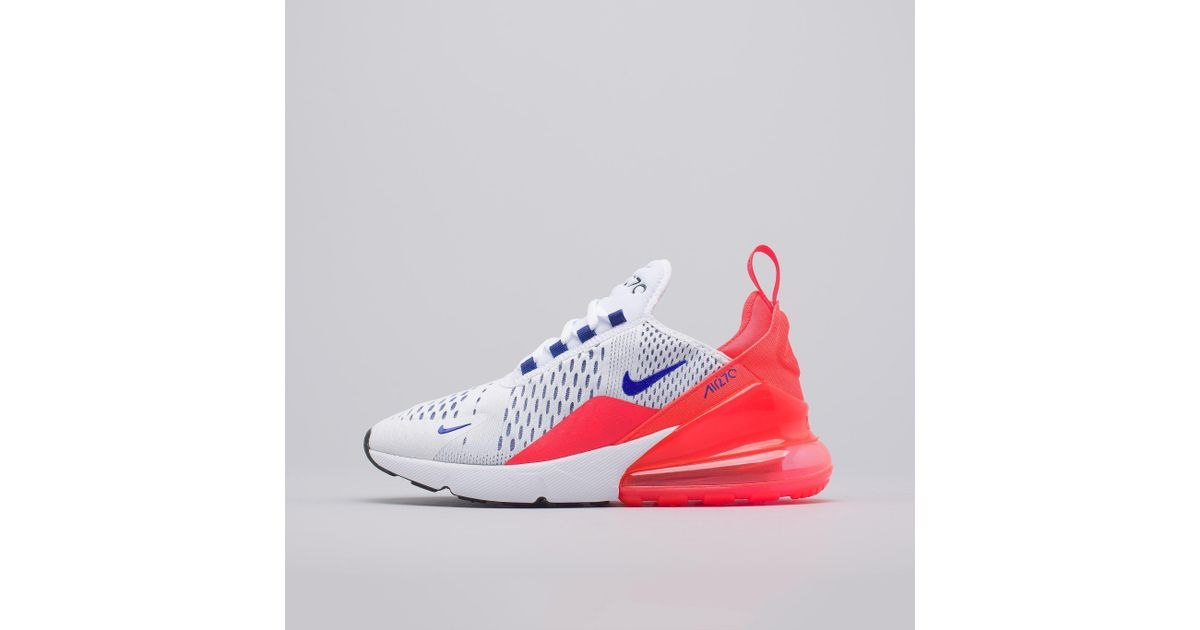 separation shoes 15e55 c38fb Nike Women's Air Max 270 In White/ultramarine in White for Men - Lyst