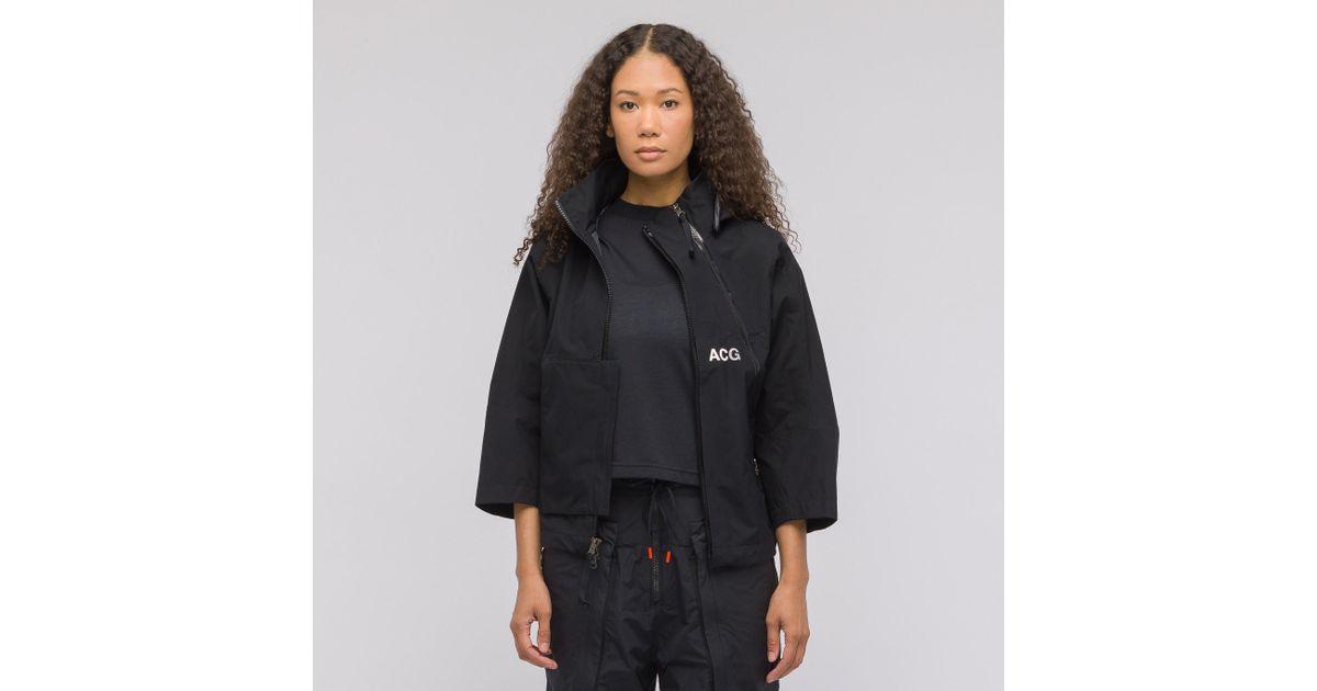 Lyst - Nike Women s Acg Gore-tex Jacket In Black in Black for Men 3824556b85