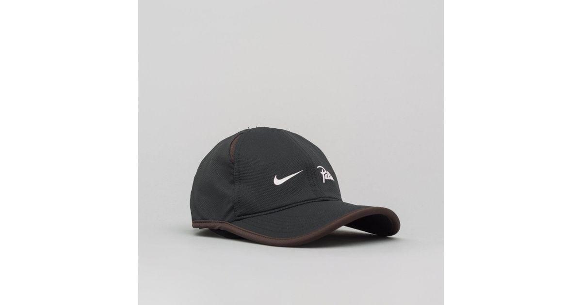 Lyst - Nike X Patta Featherlight Cap In Black in Black for Men 32bf723f55d